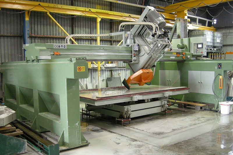 Stone Sawing Machine (Steel Frame Type, Tilting Spindle)