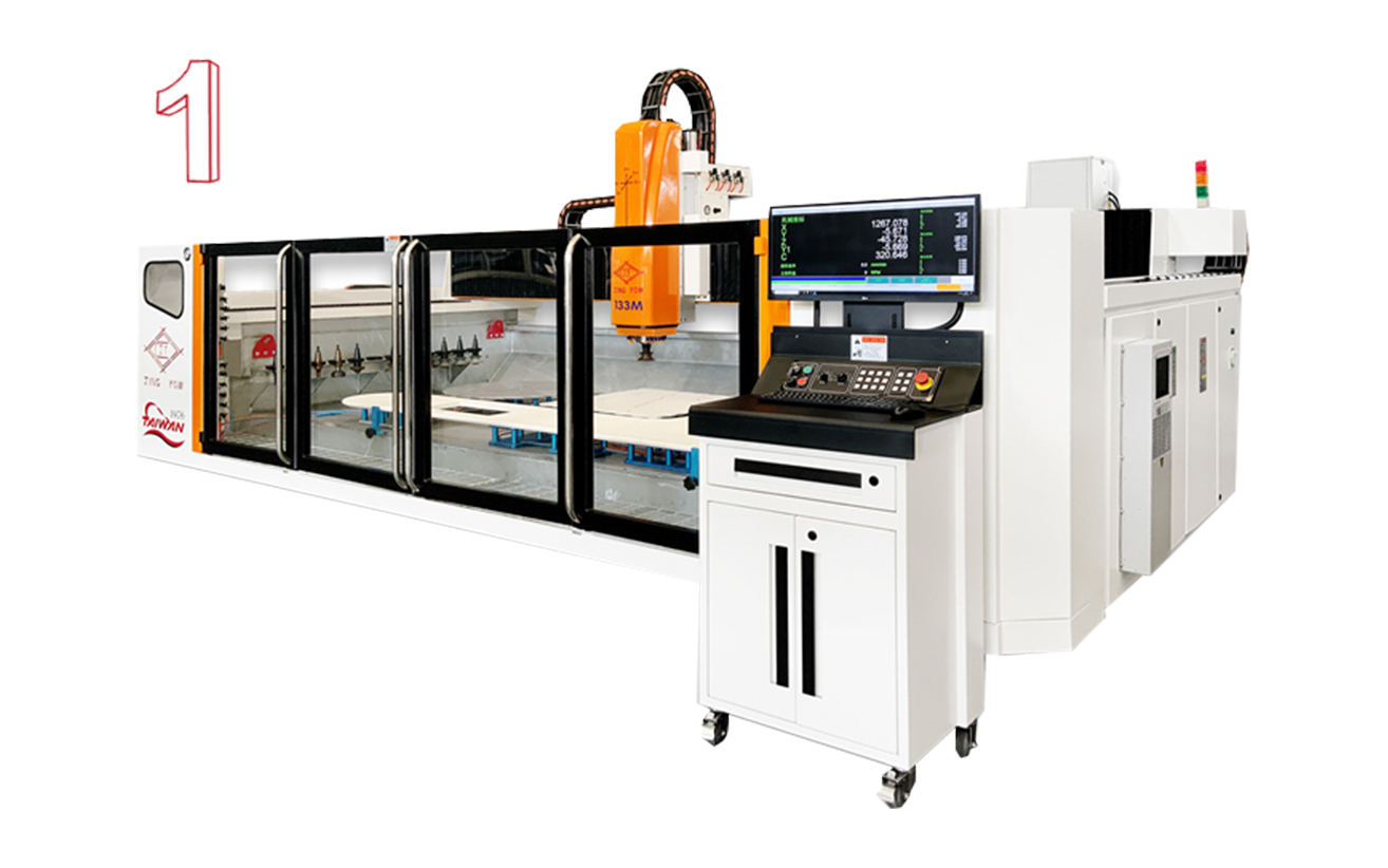 Medium Work Center (133 CNC 3 Axis)