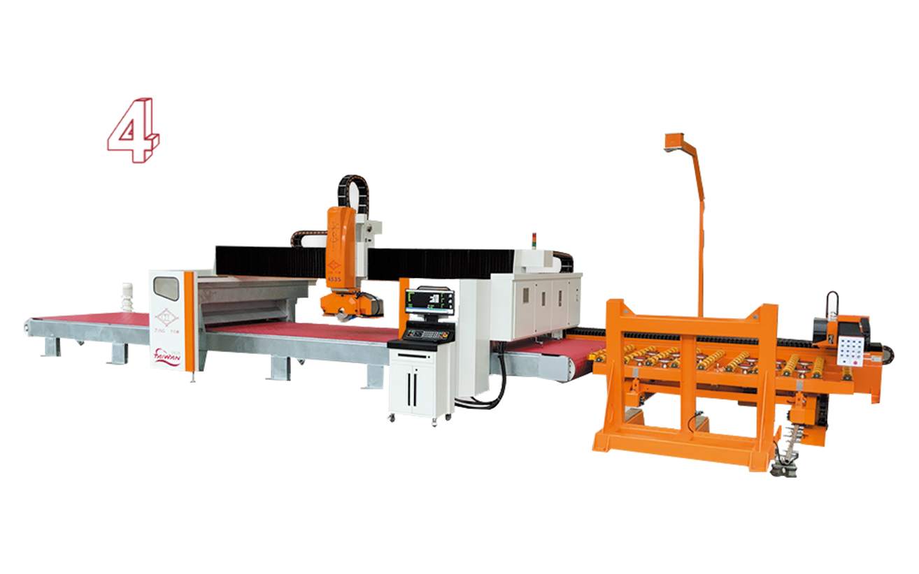 Sawing Machine of Belt Type (453 CNC 5 Axis)