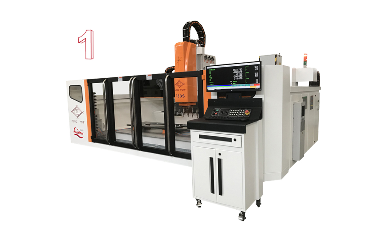 Small Work Center (133 CNC 3 Axis)